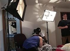 DesperateAmateurs Andi and Sean BTS part one  Videoclip XXX 540p Siterip