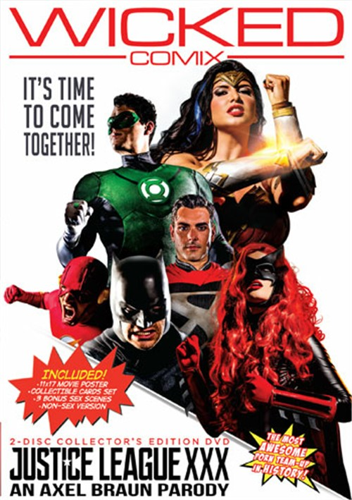Justice League XXX: An Axel Braun Parody Wicked Pictures  [DVD.RIP. H.264 2017] Siterip RIP