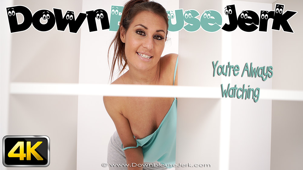 Downblousejerk Jess West  You re Always Watching  SITERIP Downblousejerk Siterip RIP