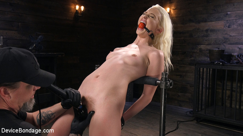 devicebondage Newbie is Trapped in Evil Devices and Tormented  May 31, 2018[Kink.com]  Siterip BDSM h.264 Siterip