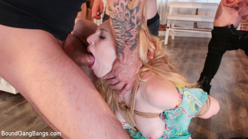 Kink.com boundgangbangs Delirious Hunter Dreams of Being Bound and Gangbanged  WEBL-DL 1080p mp4 Siterip RIP