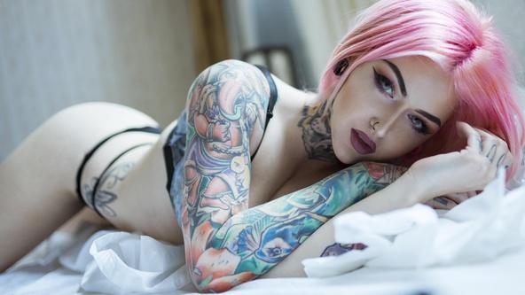 Suicide Girls Hopeful Set with raisie  Siterip Siterip RIP