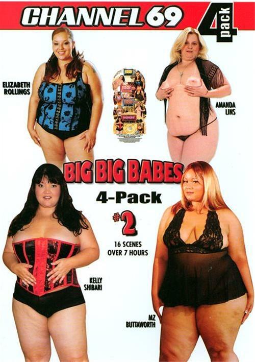 Big Big Babes 4-Pack #2 Channel 69  [DVD.RIP. H.264 2016 ETRG 768×460 720p BBW XXX]