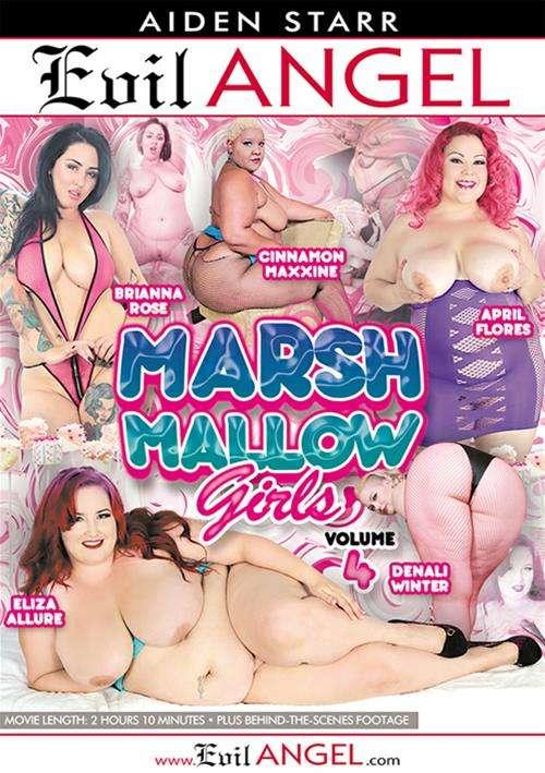 Marshmallow Girls Vol. 4 Evil Angel  [DVD.RIP. H.264 2016 ETRG 768×460 720p BBW XXX]