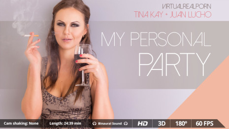 Virtualrealporn My personal party (24:40 min.)  Siterip VirtualReality XXX 60FPS 4100×2000 AAC Audio .mp4