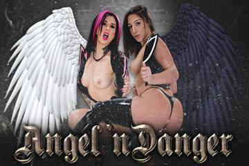 Hologirls VR Angel 'n Danger  Siterip VirtualReality XXX 60FPS 4100×2000 AAC Audio .mp4