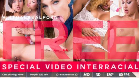 Virtualrealporn Special interracial (2:20 min.)  Siterip VirtualReality XXX 60FPS 4100×2000 AAC Audio .mp4