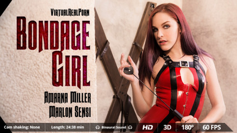 Virtualrealporn Bondage girl (24:40 min.)  Siterip VirtualReality XXX 60FPS 4100×2000 AAC Audio .mp4