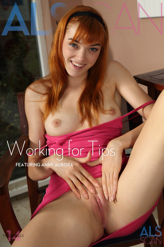 AlSScan Anny Aurora in Working for Tips 23.08.2016 Imageset 4200px HD Siterip