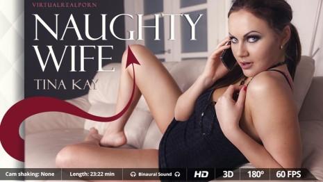 Virtualrealporn Naughty wife (23:20 min.)  Siterip VirtualReality XXX 60FPS 4100×2000 AAC Audio .mp4