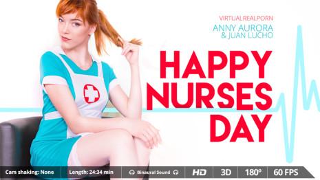 Virtualrealporn Happy Nurses Day (24:30 min.)  Siterip VirtualReality XXX 60FPS 4100×2000 AAC Audio .mp4