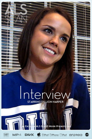 AlSScan Dillion Harper in Interview 12.08.2016 Imageset 4200px HD Siterip