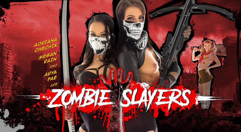 WankzVR Zombie Slayers  Siterip VR XXX