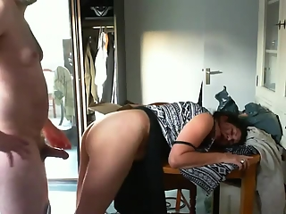 YourVoyeurVideos Old man fucks woman from behind  AMATEUR Clip Siterip XXX h.264 Video