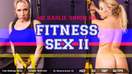 Virtualrealporn Fitness sex II (18:35 min.)  Siterip VR XXX