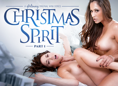 Girlsway Shyla Jennings in Christmas Spirit: Part One  [HD VIDEO RIP 720p]