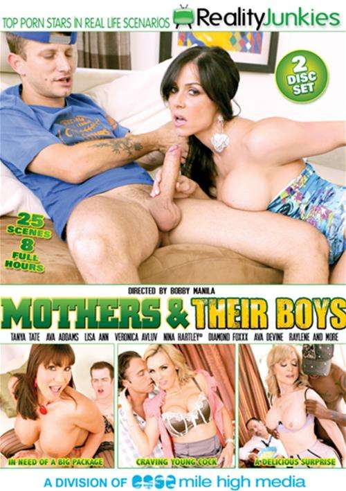 Mothers & Their Boys Reality Junkies  [DVD.RIP. H.264 2016 ETRG 768×460 720p]