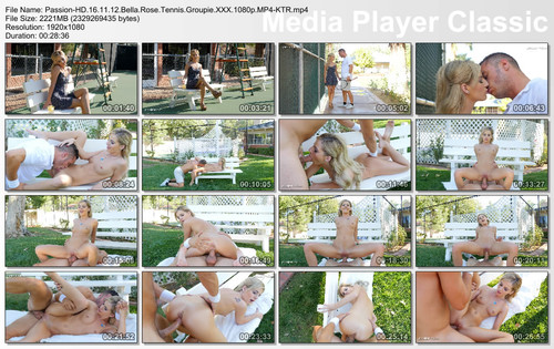 Passion-HD Bella Rose Tennis Groupie  SITERIP Video H.264