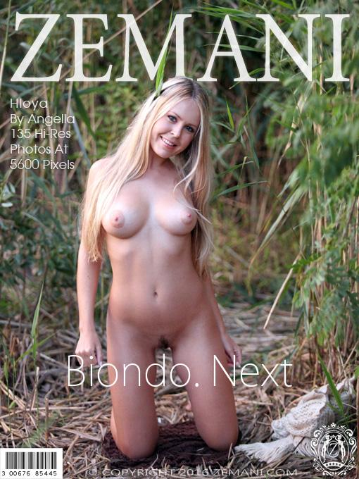 ZEMANI Hloya in Biondo. Next  [FULL IMAGESET]