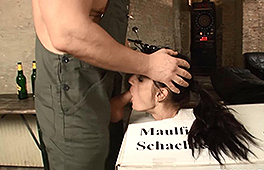 FunMovies German chick enjoys bondage and oral action Unknown