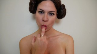ManyVids Ashley Alban: The Enslavement of Princess Leia: Part I  Siterip Clip XXX