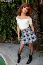 Femout.XXX Buddy Presents Michelle Perez  Tranny XXX Siterip IMAGESET