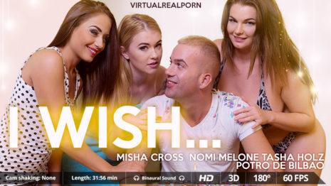 Virtualrealporn I wish…  (31:50 min.)  Siterip VR XXX