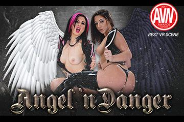HologirlsVR Angel 'n Danger  Siterip VirtualReality XXX 60FPS 3900×2000 AAC Audio