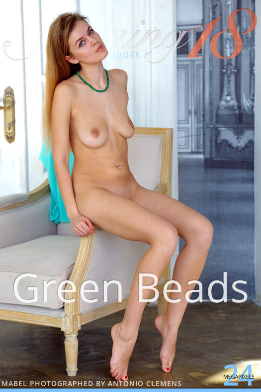 Stunning18 Green Beads  [IMAGESET FULLHD SITERIP 4000px ]