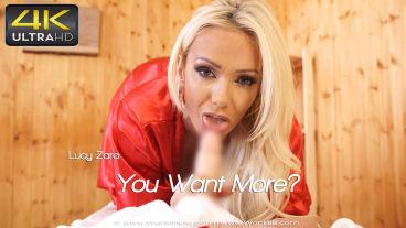 Wankitnow Lucy Zara  You Want More?  SITERIP VIDEO