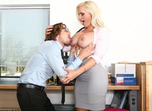 Devilsfilm Big Tit Office Chicks starring Alena Croft  [HD VIDEO Siterip 720p]