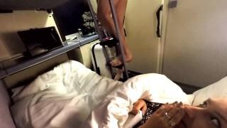ManyVids Mariah_Leonne: Train Masturbate Suck Stranger  Siterip Clip XXX