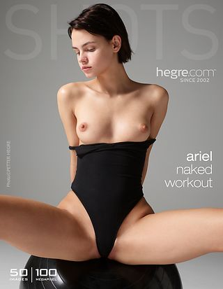 HegreArt Ariel naked workout  IMAGESET PHOTOS