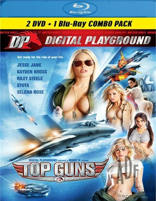 Top Guns (DVD + Blu-ray Combo) Digital Playground  [BlueRay.RIP. H.264 2016 ETRG 1768×1260 720p]