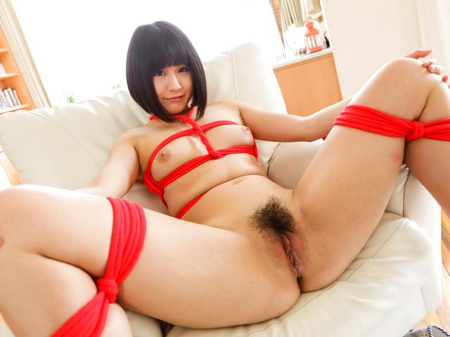 HairyAV Mari Koizumi receives pleasures over her hairy Asian pussy  SiteRip Asian XXX Video 1080p