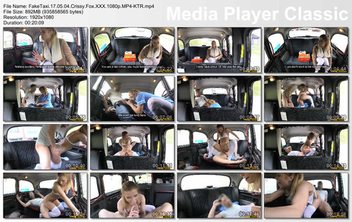 FakeTaxi Crissy Fox  SITERIP Video H.264