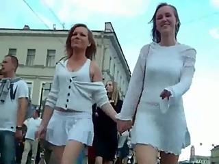 YourVoyeurVideos  Two lesbian sexy asses upskirted PaysiteRip VoyeurXXX