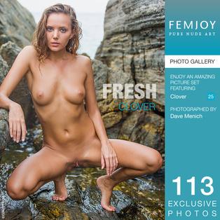 FEMJOY Fresh feat Clover release May 24, 2017  [IMAGESET 4000pix Siterip NUDEART]
