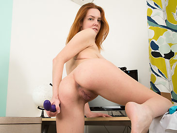 MysexyKittens Super cute red head toying herself  [HD SITERIP Teen  XXX]