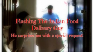 ManyVids ScarletRaven: Flashing The IndianFood Delivery Guy  Siterip Clip XXX