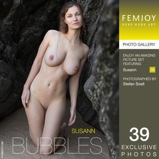 FEMJOY Bubbles feat Susann release May 20, 2017  [IMAGESET 4000pix Siterip NUDEART]