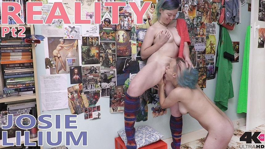 GirlsoutWest Josie & Lilium – Reality pt2  Video  Siterip 720p mp4 HD