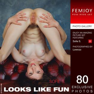 FEMJOY Looks Like Fun feat Sofie S. release June 30, 2017  [IMAGESET 4000pix Siterip NUDEART]