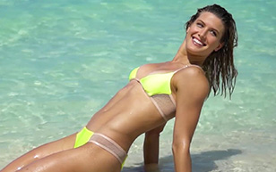 MrSkin Checkout the Beautiful Eugenie Bouchard in Sports Illustrated: Swimsuit 2017  Siterip Videoclip