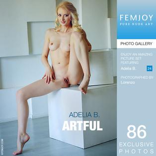 FEMJOY Artful feat Adelia B. release July 4, 2017  [IMAGESET 4000pix Siterip NUDEART]