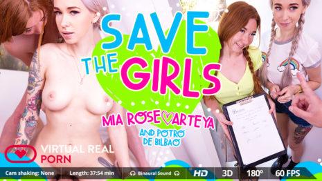 Virtualrealporn Save the girls  (37:54 min.)  Siterip VR XXX Siterip RIP