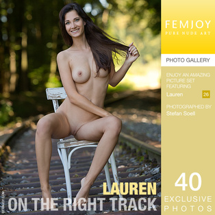 FEMJOY On The Right Track feat Lauren release July 22, 2017  [IMAGESET 4000pix Siterip NUDEART]