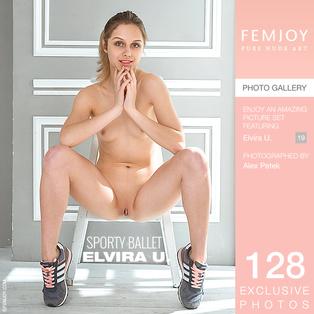 FEMJOY Sporty Ballet feat Elvira U. release July 17, 2017  [IMAGESET 4000pix Siterip NUDEART] Siterip RIP
