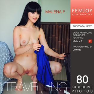 FEMJOY Travelling feat Malena F. release August 26, 2017  [IMAGESET 4000pix Siterip NUDEART]