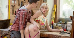 Zazie Skymm in Carpenter Yard Elegant Anal  Siterip WMV